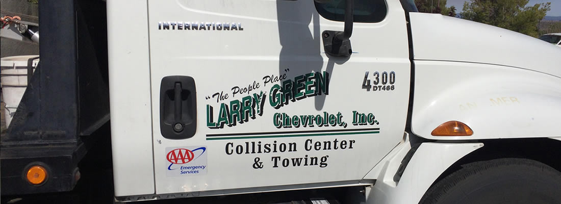 Larry Green Collision and Towing, Cottonwood, Verde Valley, Az